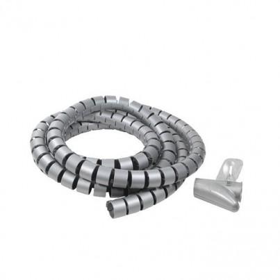 Gaine cache câbles spiralée + Outil