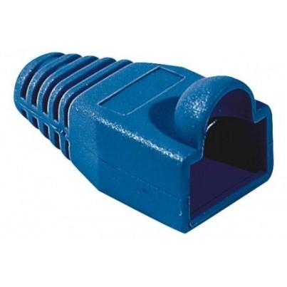 Manchon RJ45 6mm bleu