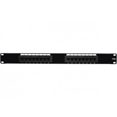 Panneau 16 ports CAT5e UTP