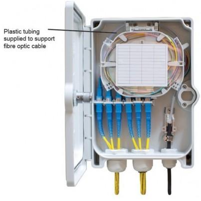 Boîtier de raccordement int/ext 24 fibres