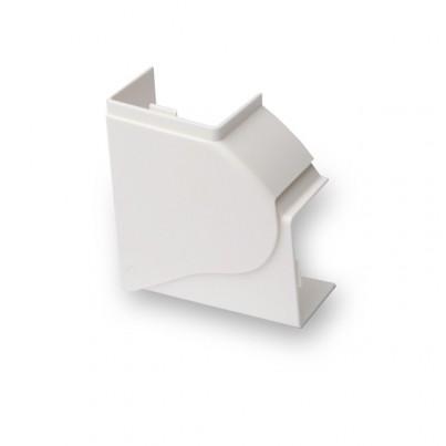 Angle plat PVC 80x54