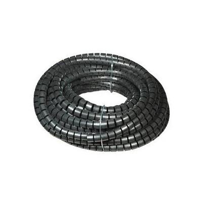 Rouleau gaine cache câbles spiralé noire