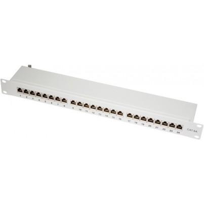 Panneau 24 ports CAT6a FTP