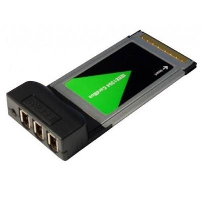 Carte PCMCIA FireWire 3 ports
