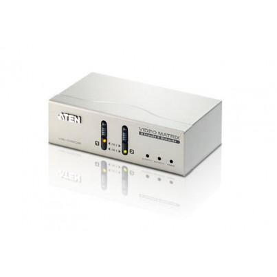 Matrice Vidéo 2 x 2 VGA + Audio