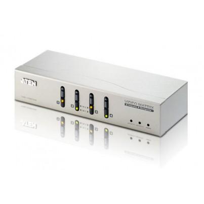 Matrice Vidéo 4 x 2 VGA + Audio