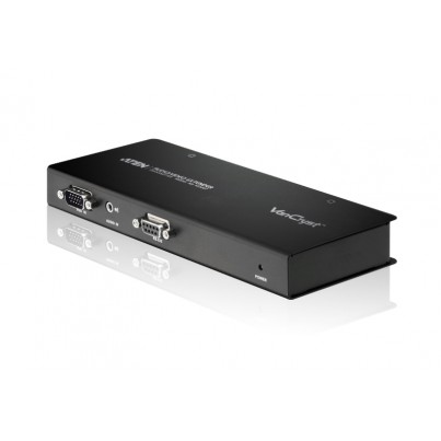 Transmetteur VGA + audio+ RS232 sur RJ45
