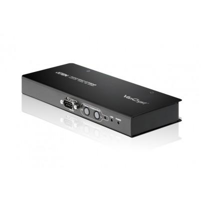 Récepteur VGA + audio+ RS232 sur RJ45 (150m)