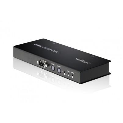 Récepteur VGA + audio+ RS232 sur RJ45 (300m)