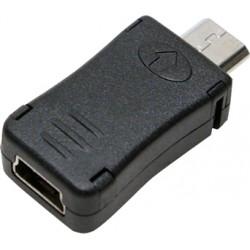 Adaptateur Micro USB mâle vers Mini USB femelle