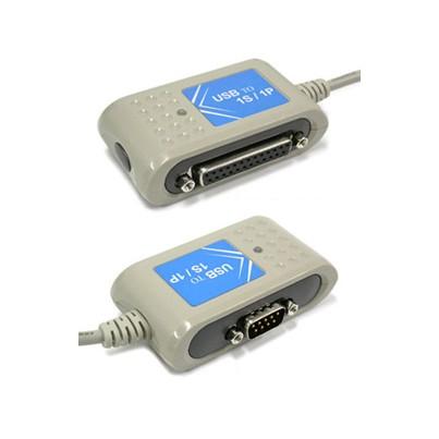 Convertisseur USB à port Série + port Parallèle