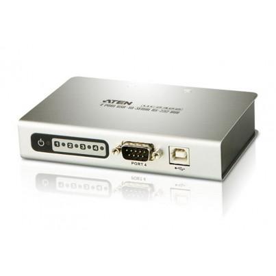 Convertisseur USB à 4 ports Série (DB9)