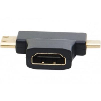 Adaptateur HDMI /mini HDMI+ micro HDMI