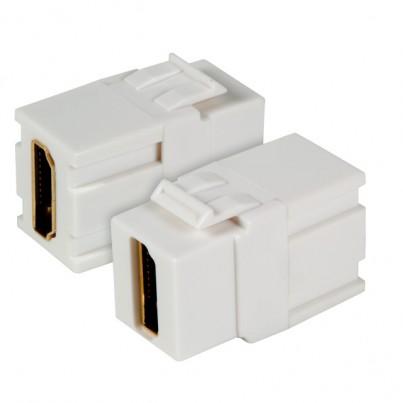 Traversée HDMI type Kestone Blanc