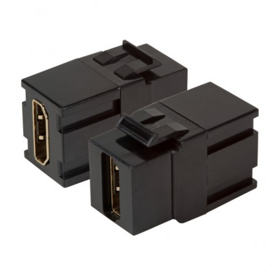 Traversée HDMI type Kestone noire