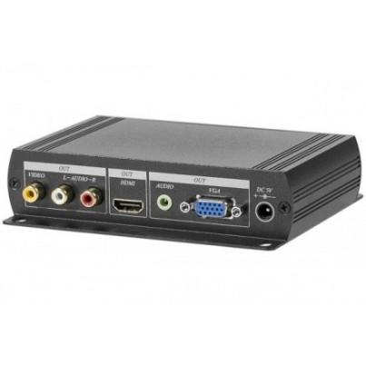 Convertisseur RCA/BNC vers HDMI/VGA