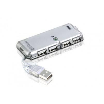 Mini Hub USB 2,0 4 ports modèle de voyage