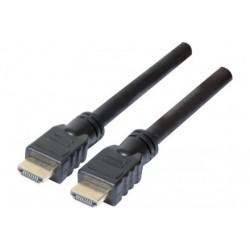 Cordon HDMI 4K -Ultra HD noir 3m