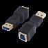 USB 3.0 A Mâle / B Femelle