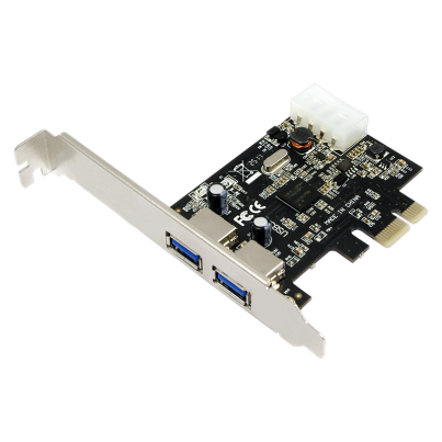 Carte PCI Express 2 ports