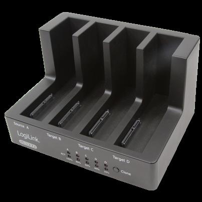 "Duplicateur 4 ports USB3.0 / SATA 3,5""+2,5"""
