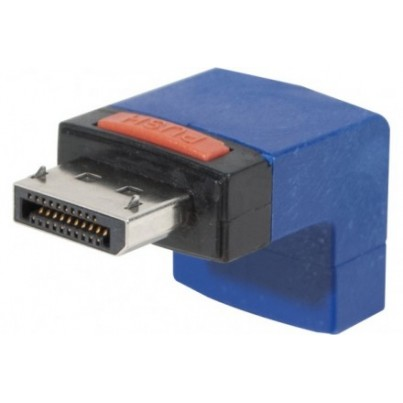 Adaptateur DisplayPort coudé 90°