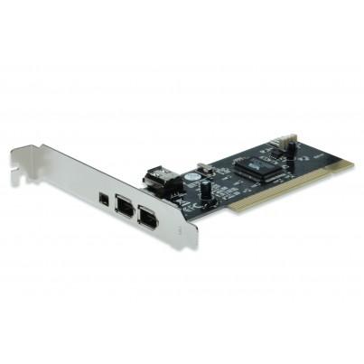 Carte PCI Firewire 400 (1394a) 4 ports