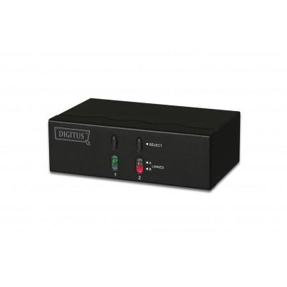 Matrice Vidéo VGA + Audio 2 écrans / 2 PC