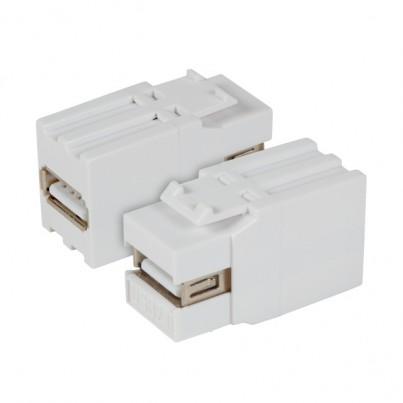 Traversée USB 2.0 AA- Blanc