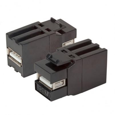 Traversée USB 2.0 AA- Noire
