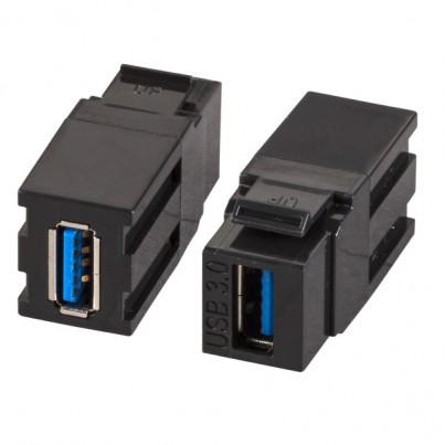 Traversée USB 3.0 AA- Noire