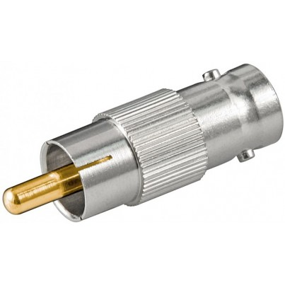 Adaptateur RCA Mâle / BNC Femelle