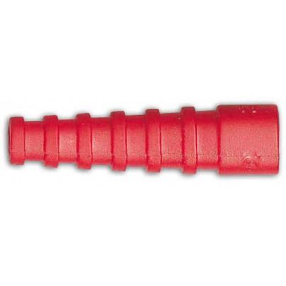 Manchon BNC rouge RG59