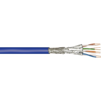 Câble CAT7 600Mhz rigide 500m Violet