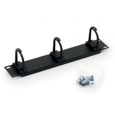 """Guide câble 10"""" noir"""