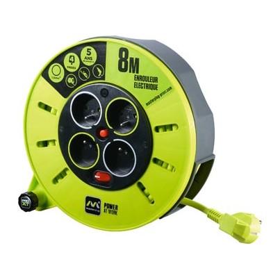 Enrouleur Pro électrique 8m