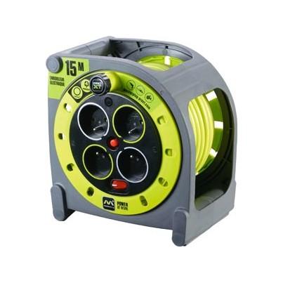 Enrouleur Pro électrique 15m