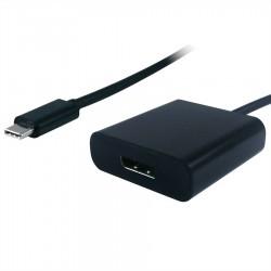 Adaptateur USB-C vers DisplayPort noir