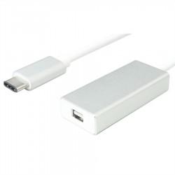 Adaptateur USB-C vers mini-DisplayPort blanc
