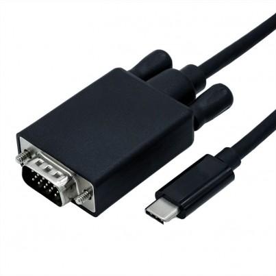 Cordon USB-C vers VGA 1m