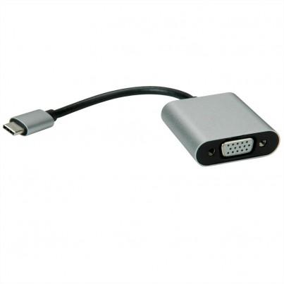 Adaptateur USB-C vers VGA noir