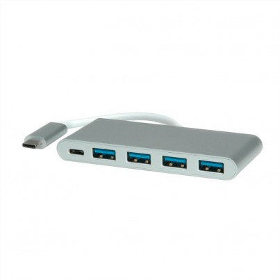 Hub USB-C vers 4 x USB3+C(charge)