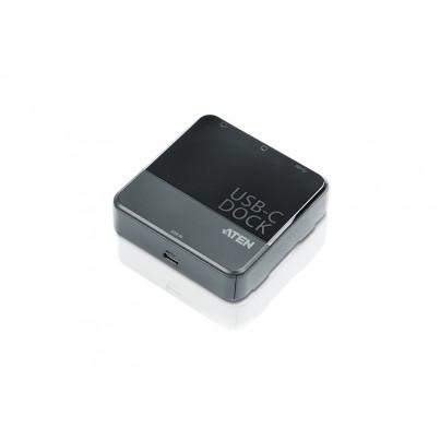 Adaptateur USB-C vers 2 x DP+USB3