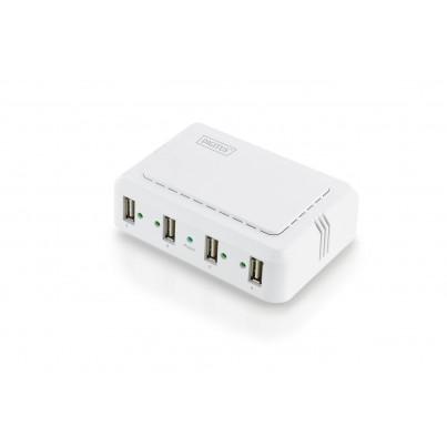 Hub réseau 4 ports Gigabit USB 2.0